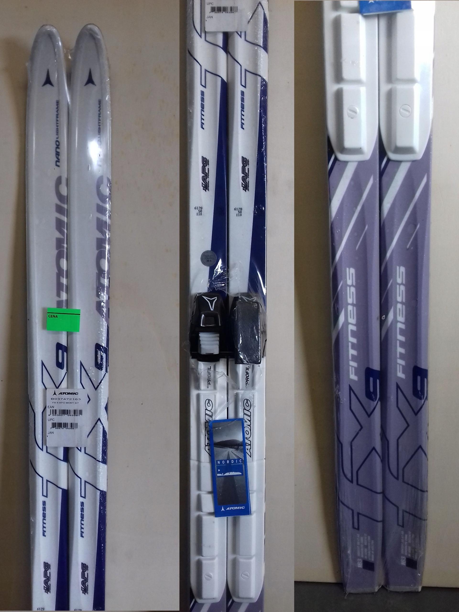 ATOMIC nowe narty biegowe 163 cm SNS PROFIL
