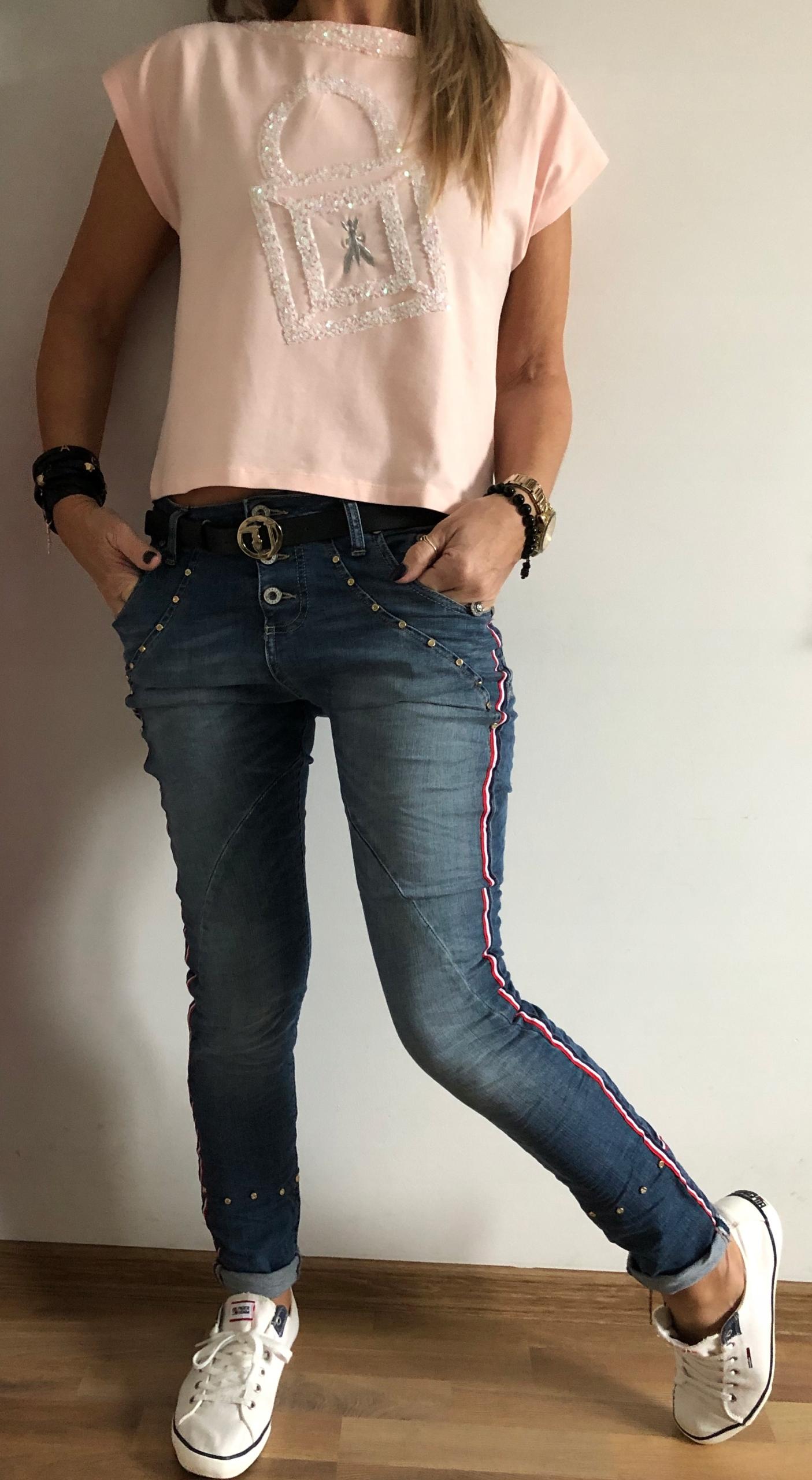 e5f0bbba Spodnie Baggy Boyfriend Please Jeans Italy Lampas