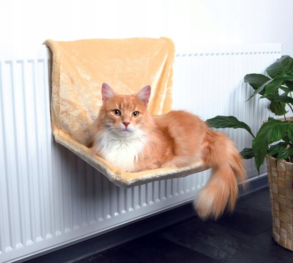 31b2f2b9ea881d Trixie legowisko dla kota na kaloryfer beżowe - 7947738939 ...