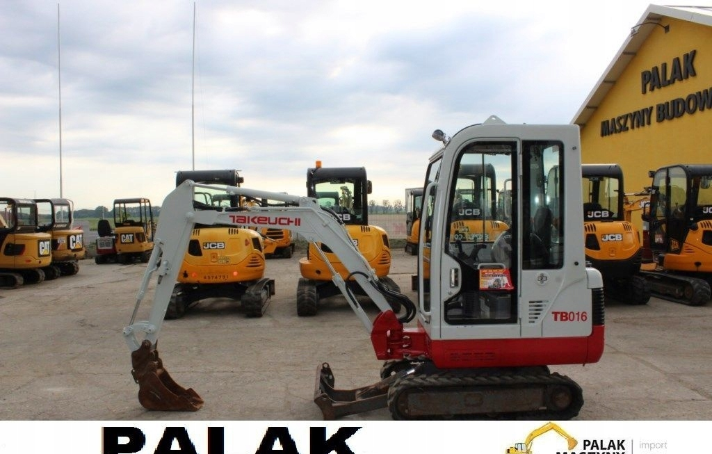 Takeuchi Mini koparka Takeuchi TB 016 ,2013 rok