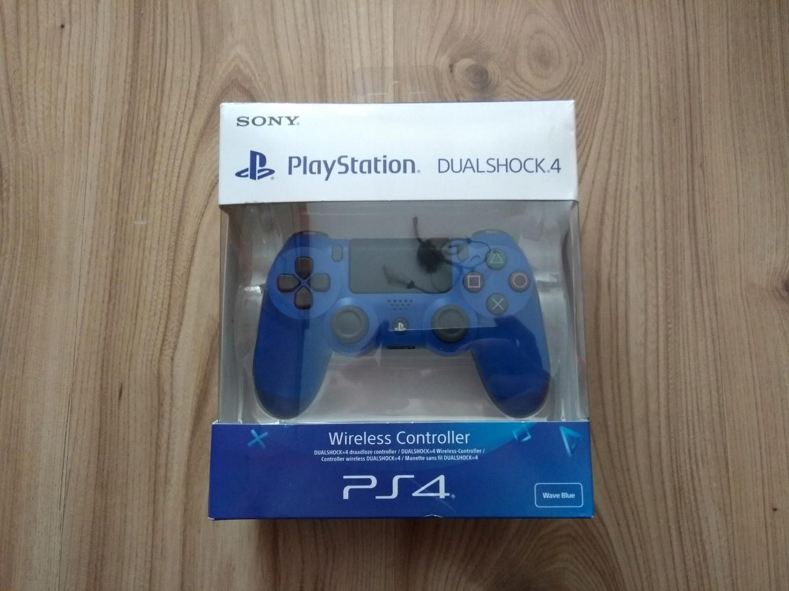 Oryginalny pad kontroler Sony DualShock 4 Blue V2