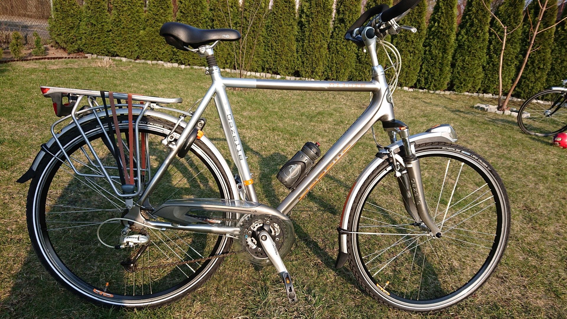 Rower meski Gazelle Allure Deore 24biegi D61