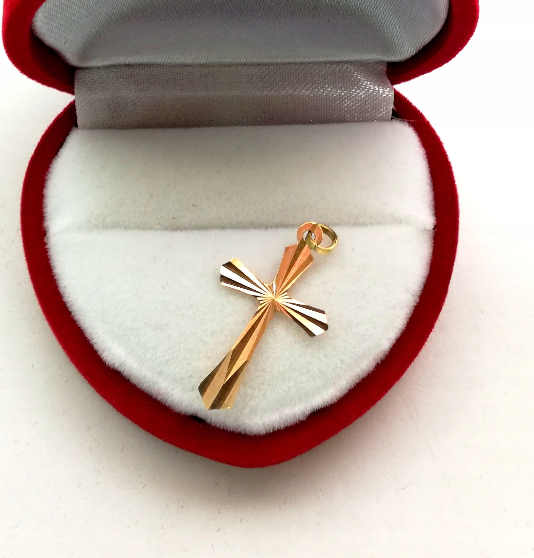 Złoty krzyżyk 14-Karatowy /585/,36g Okazja!