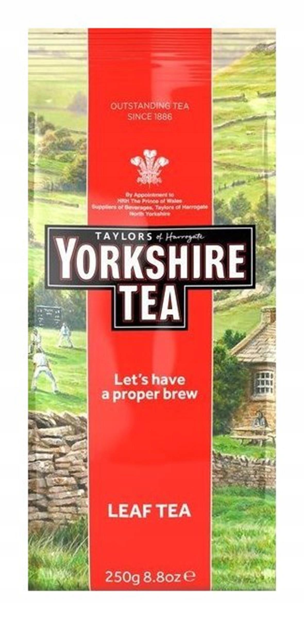 Yorkshire Tea Loose Leaf Tea 250 gram(Anglia)