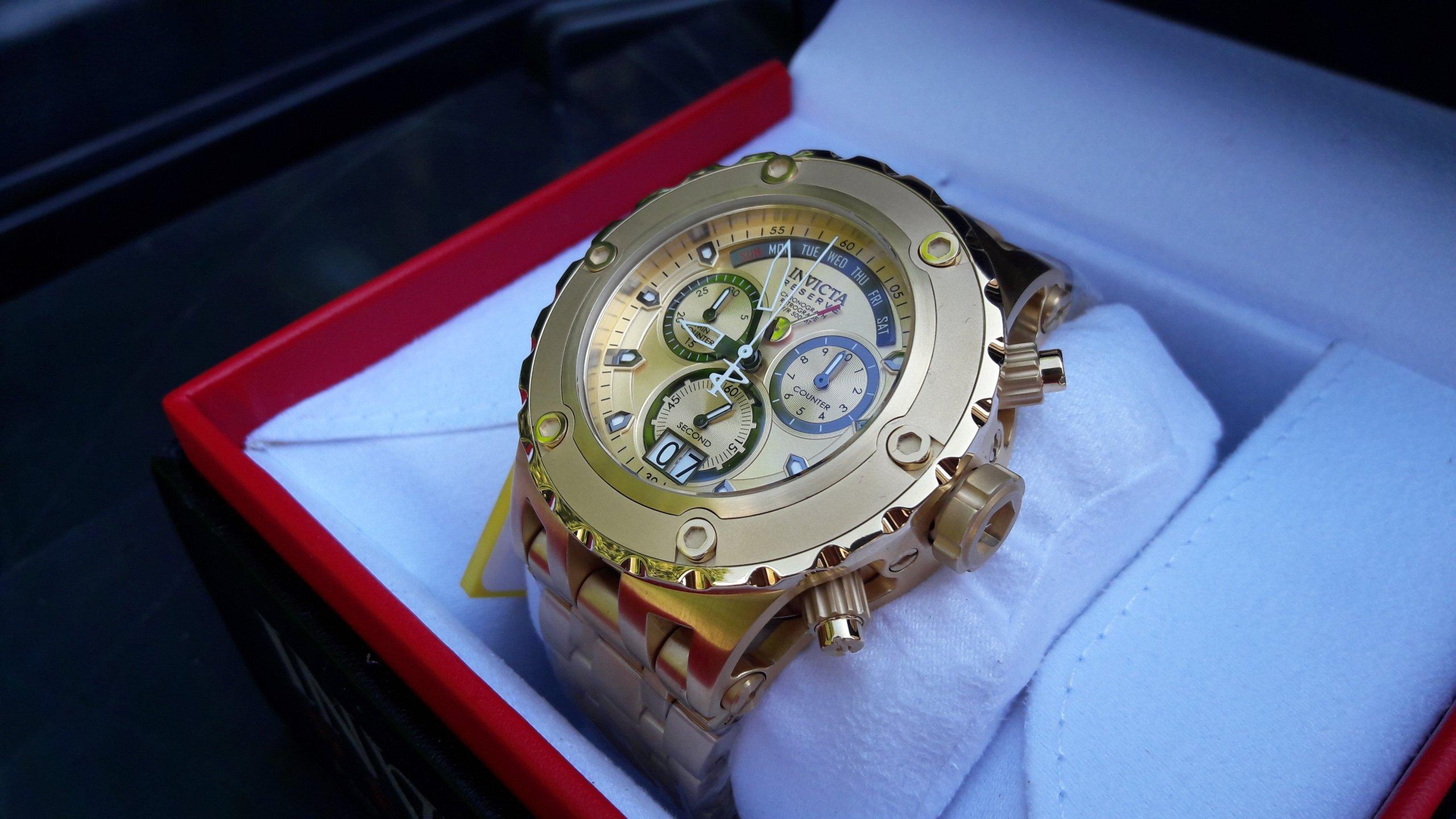 Zegarek INVICTA Złoty Swiss