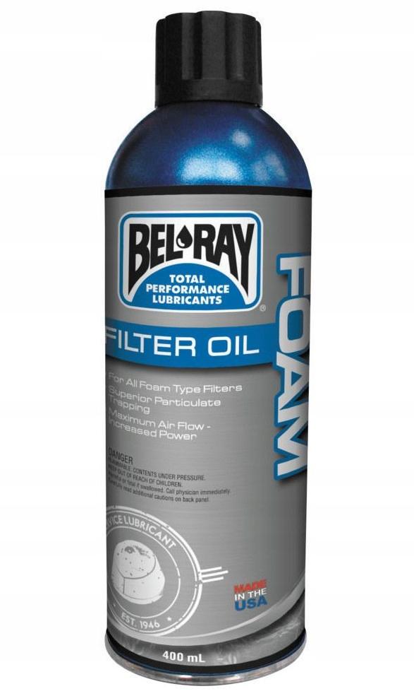 Spray do czyszczenia filtrów powietrza BELRAY 0,4L