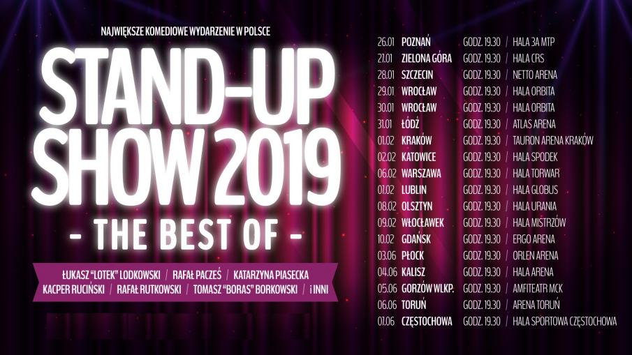 STAND UP SHOW 2019 - LUBLIN PACZEŚ, dobre miejsce
