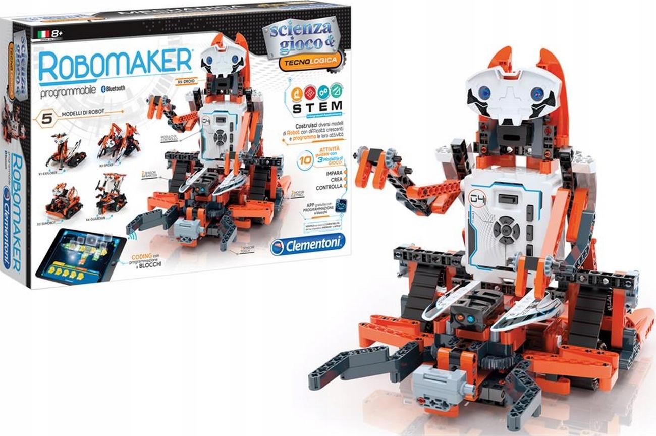 EDUKACYJNE LABORATORIUM ROBOTYKI ROBOT ROBOMAKER