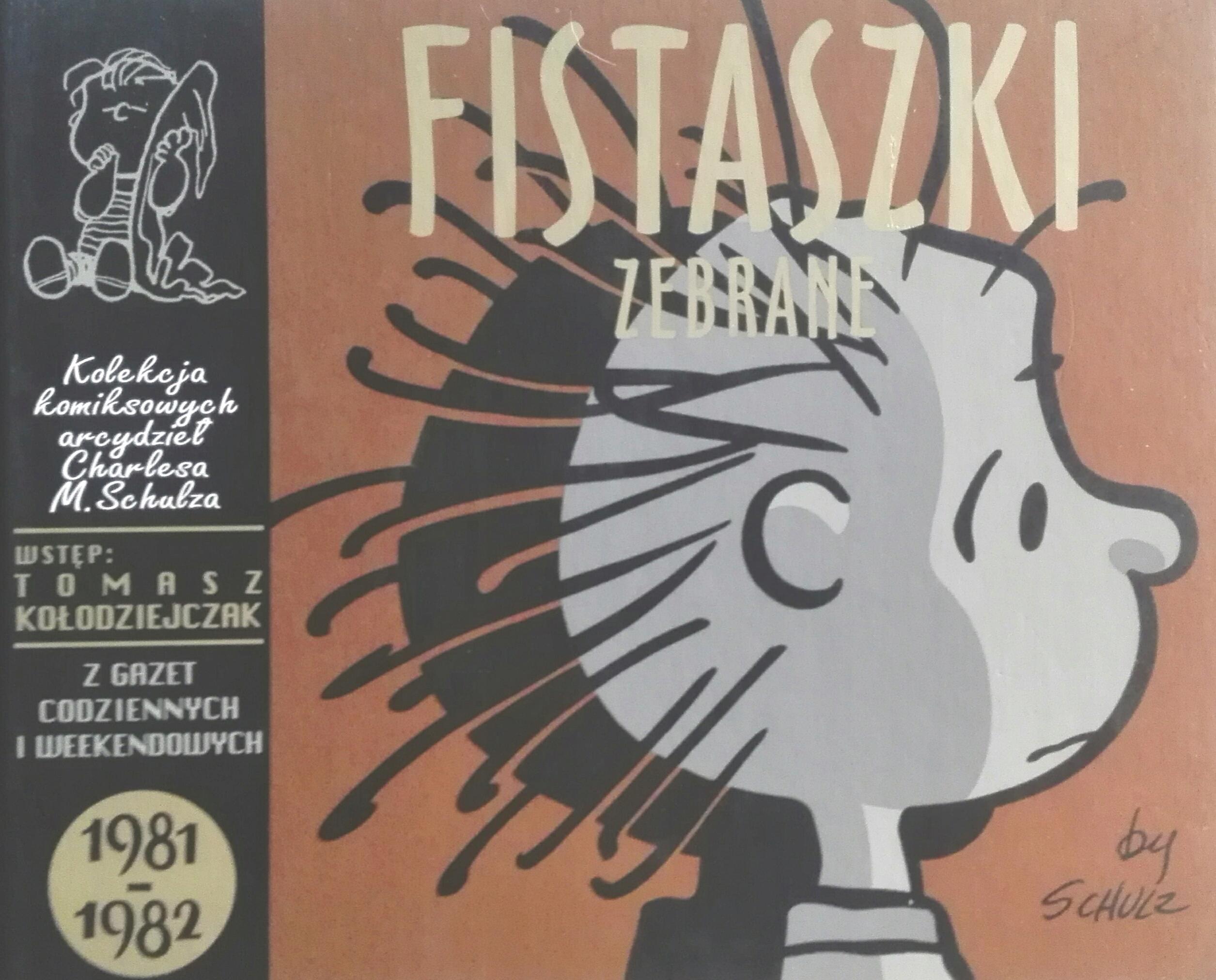 Fistaszki zebrane 1981-1982 Charles M. Schulz SPK