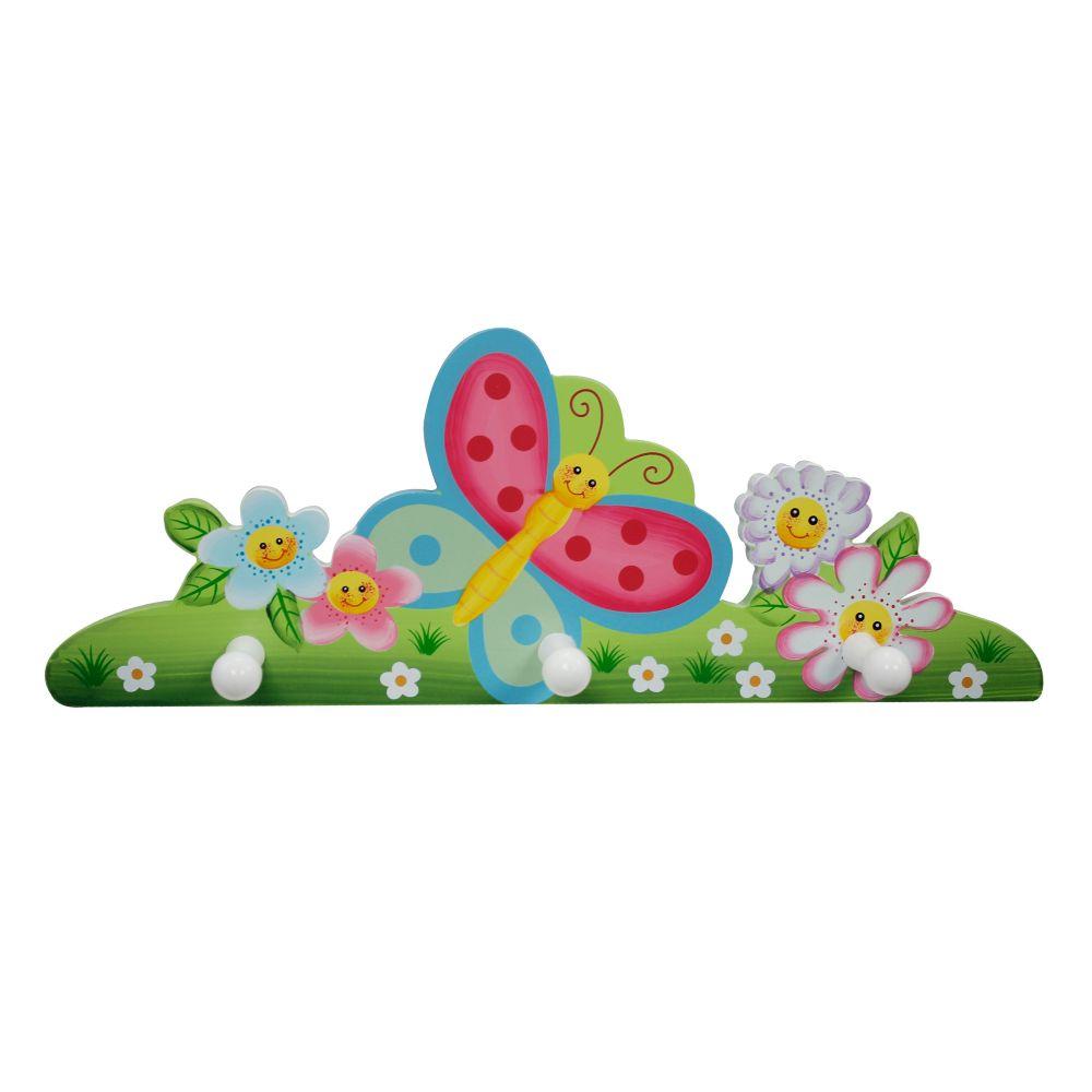Wieszak do pokoju dziecka - Magiczny ogród