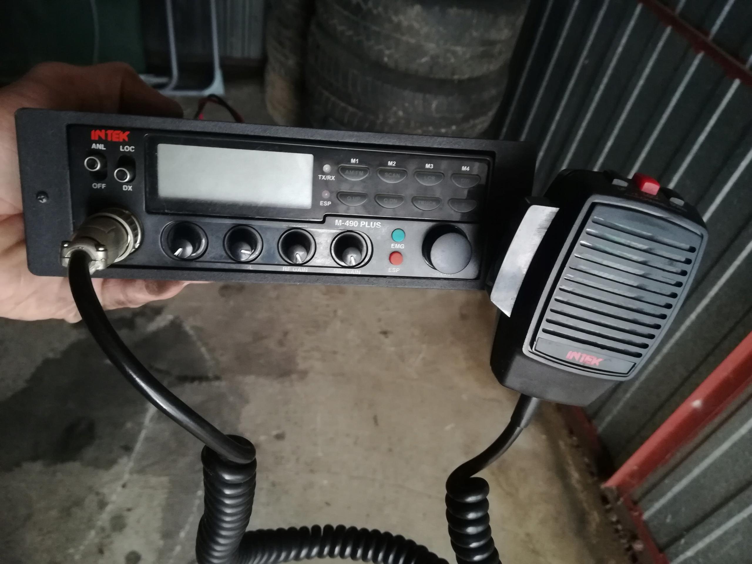 Radio CB Intek M-490 PLUS
