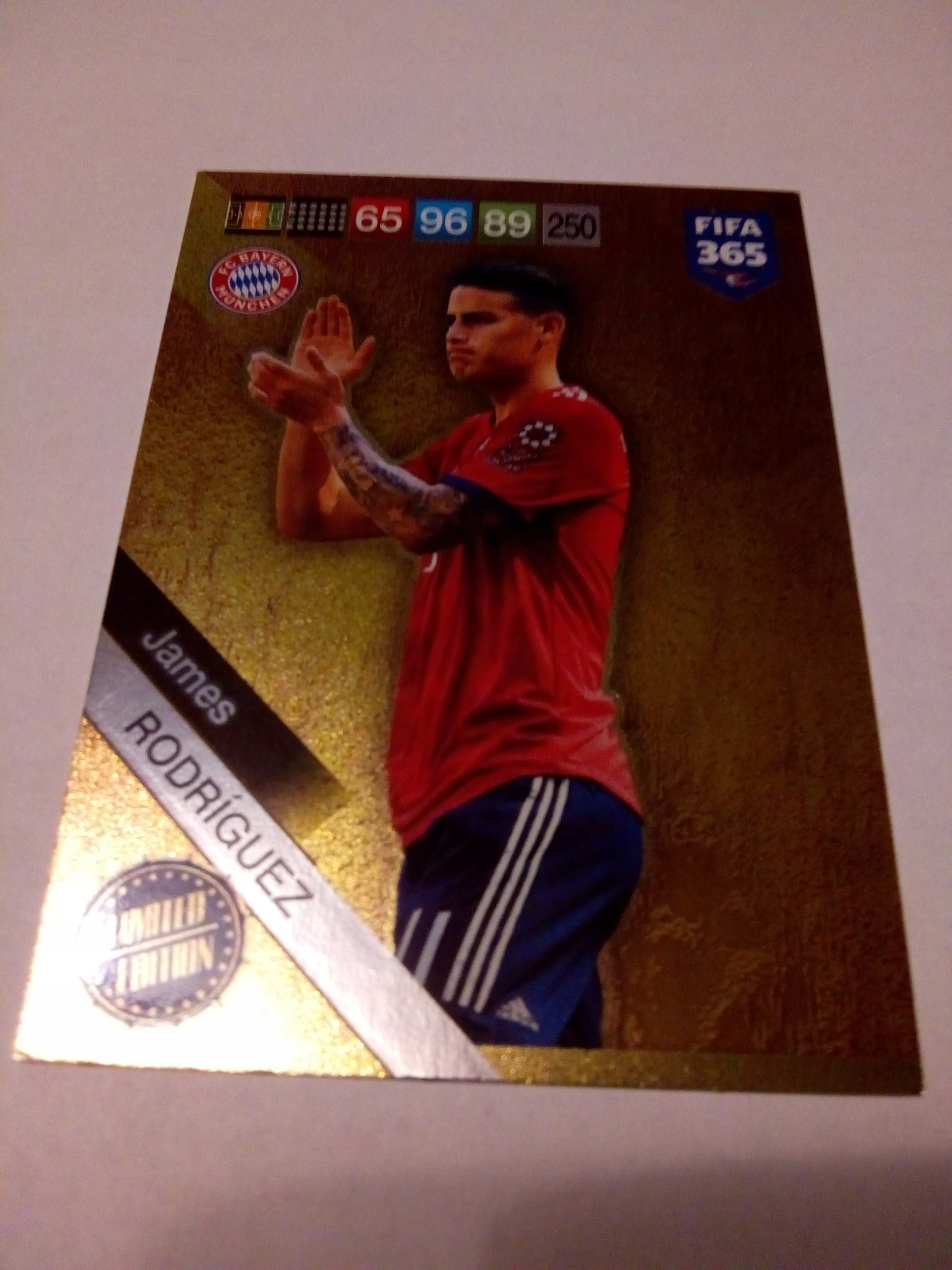Karta Limited James Rodriguez - FIFA 365 2019