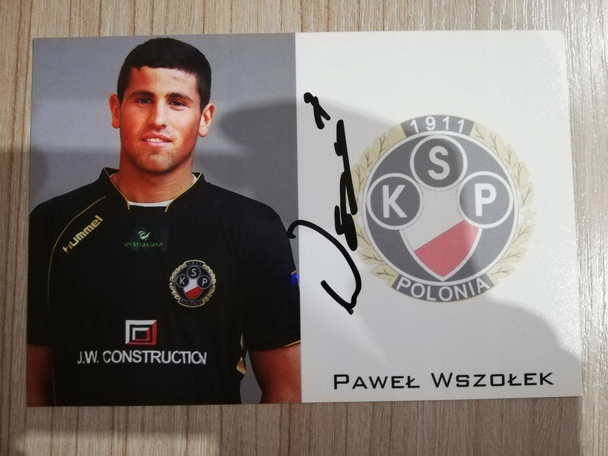 Paweł Wszołek | AUTOGRAF |