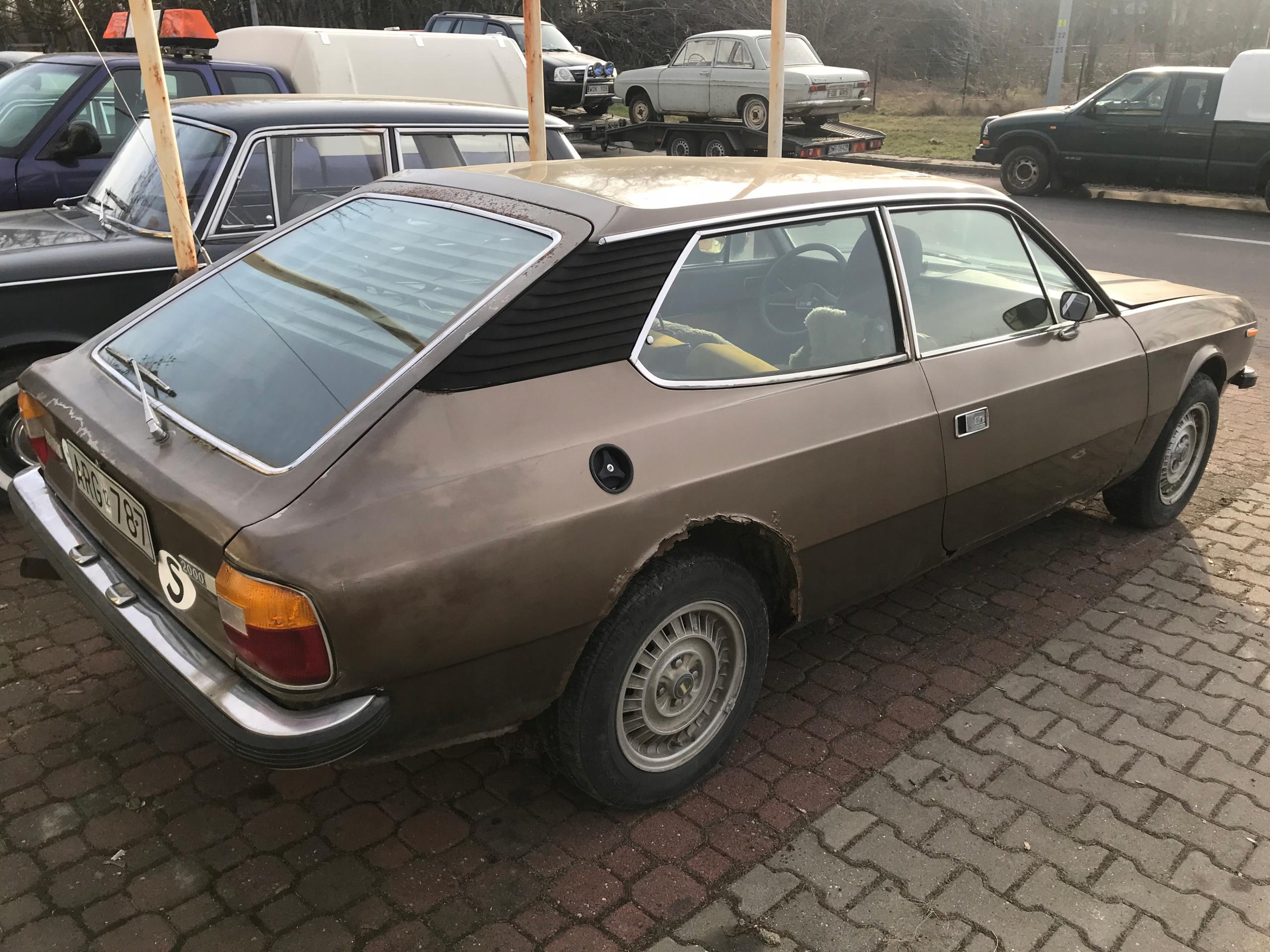 LANCIA BETA 2000 HPE 1977