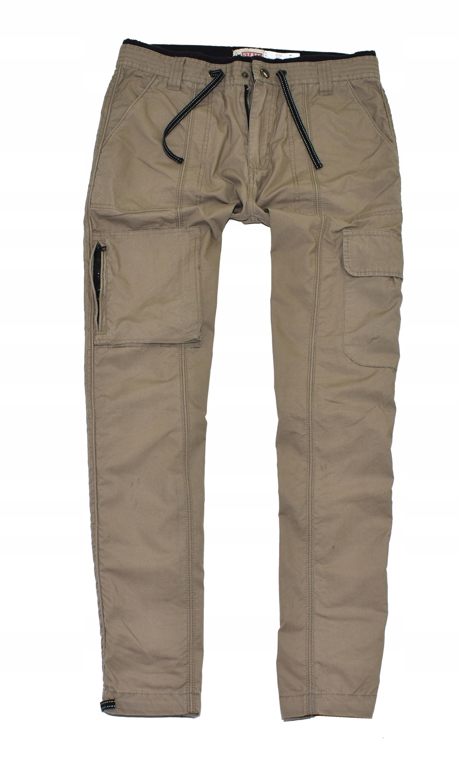 MM 191 VINTAGE_SOLID CARGO CASUAL PANTS_M