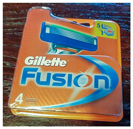 Gillette Fusion ostrza 5+1 4 sztuki nowe ORYGINAŁ