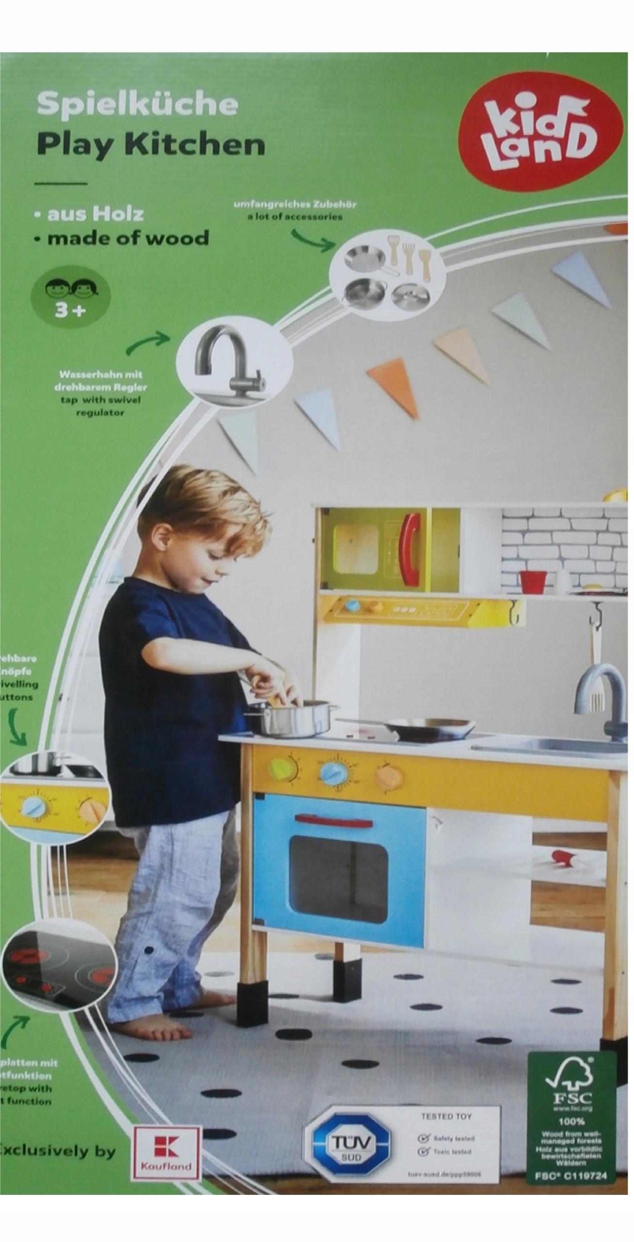 Kuchnia Do Zabawy Dla Dzieci Drewniana Regulacja
