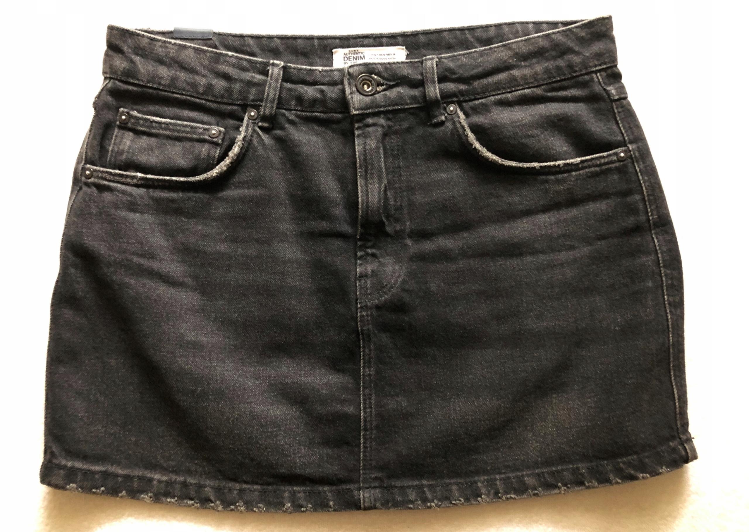 ZARA mini spódniczka jeansowa M OKAZJA