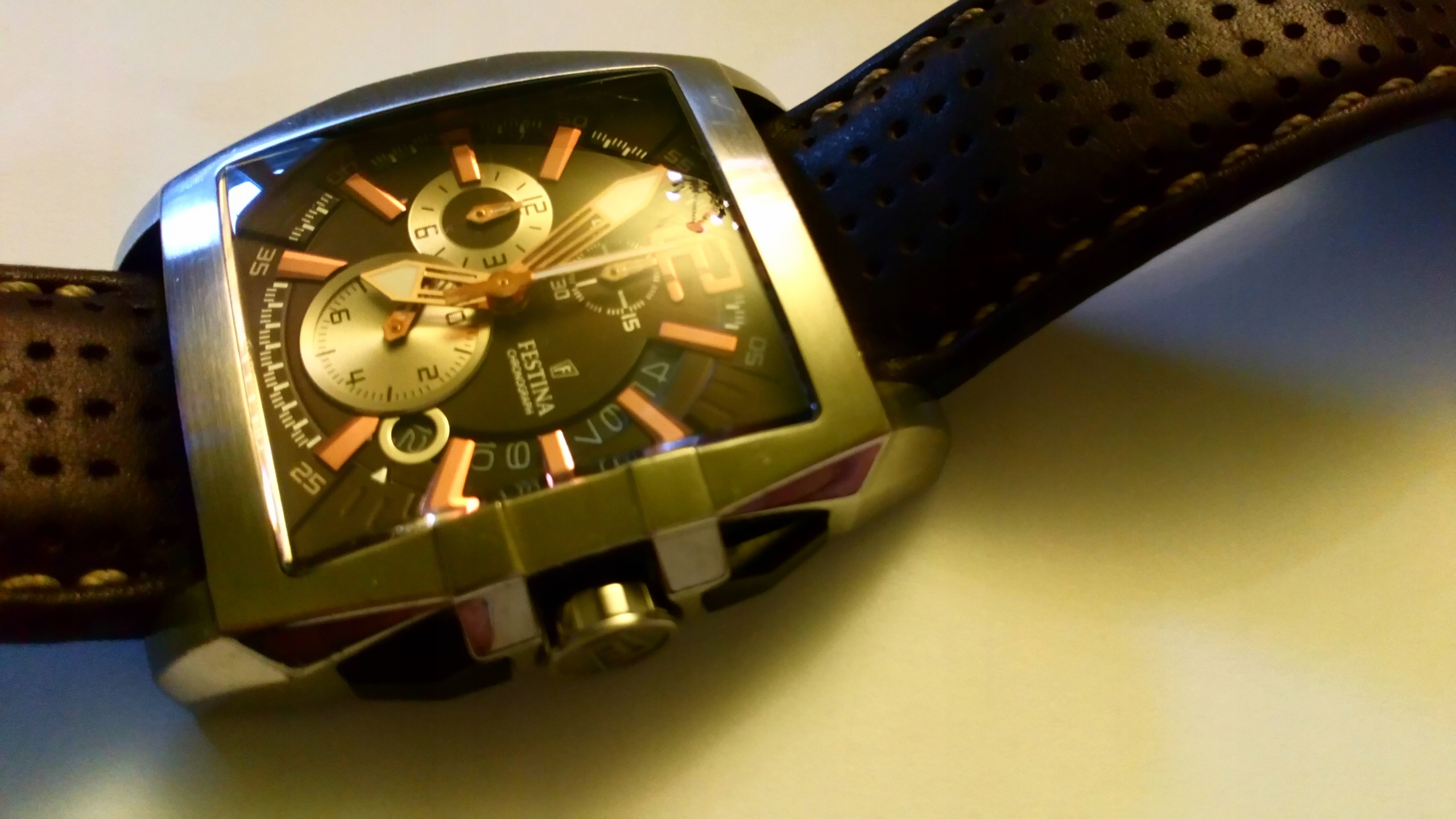 zegarek FESTINA CHRONOGRAPH jak nowy x2