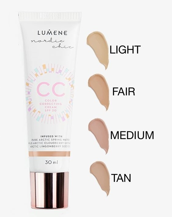 371c7088815 LUMENE CC COLOR CORRECTING CREAM 7W1 MEDIUM - 7442718132 - oficjalne ...
