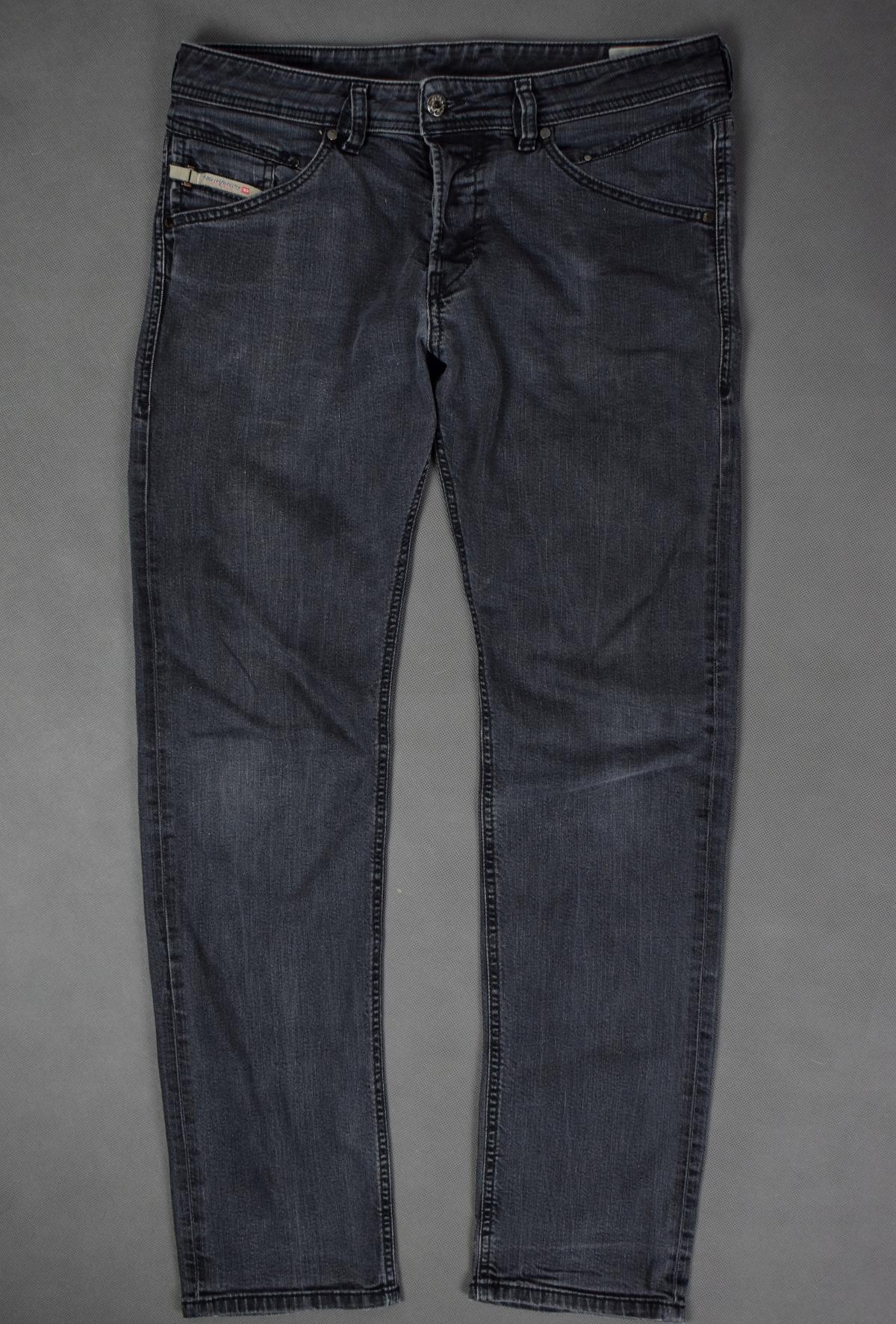 Diesel Belther Spodnie Jeansowe Slim Tapered 31/32