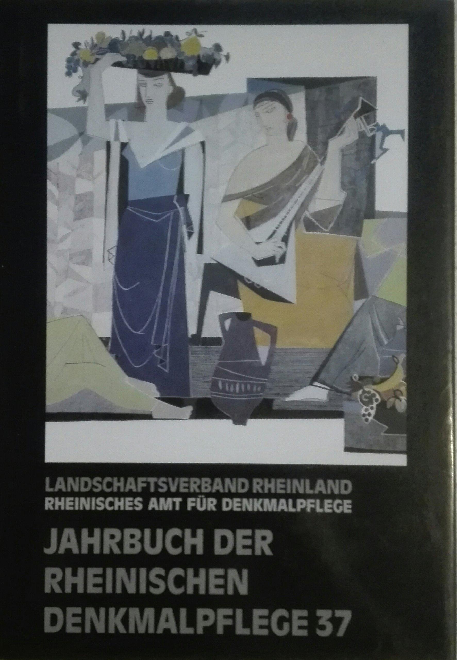 Jahrbuch der Rheinischen Denkmalpflege 37 SPK