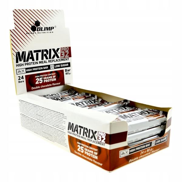 Olimp Matrix Pro 32 24 x 80 g PROTEIN BAR LOW CARB