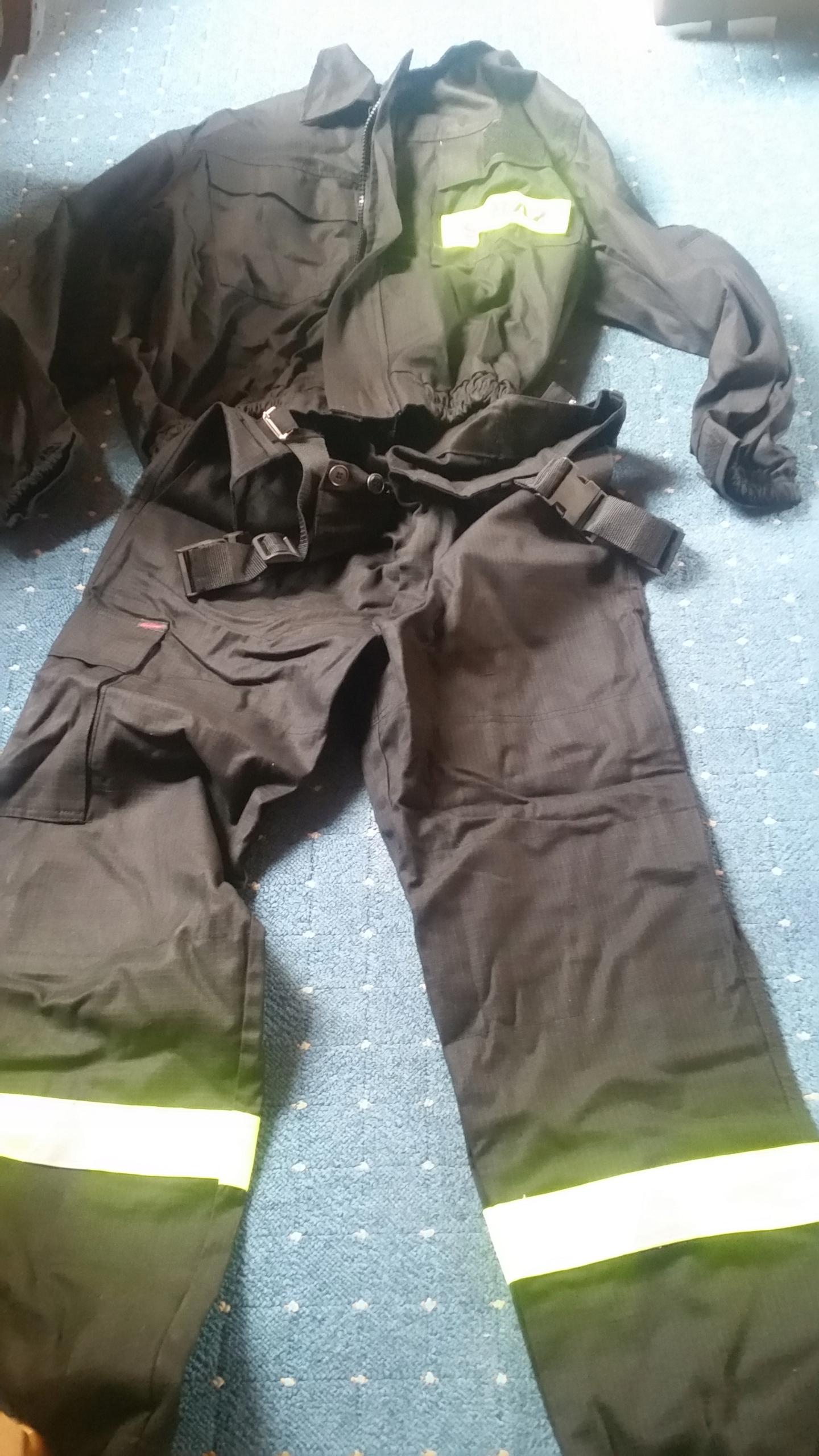 Ubranie koszarowe strażackie 3 części koszarówka c