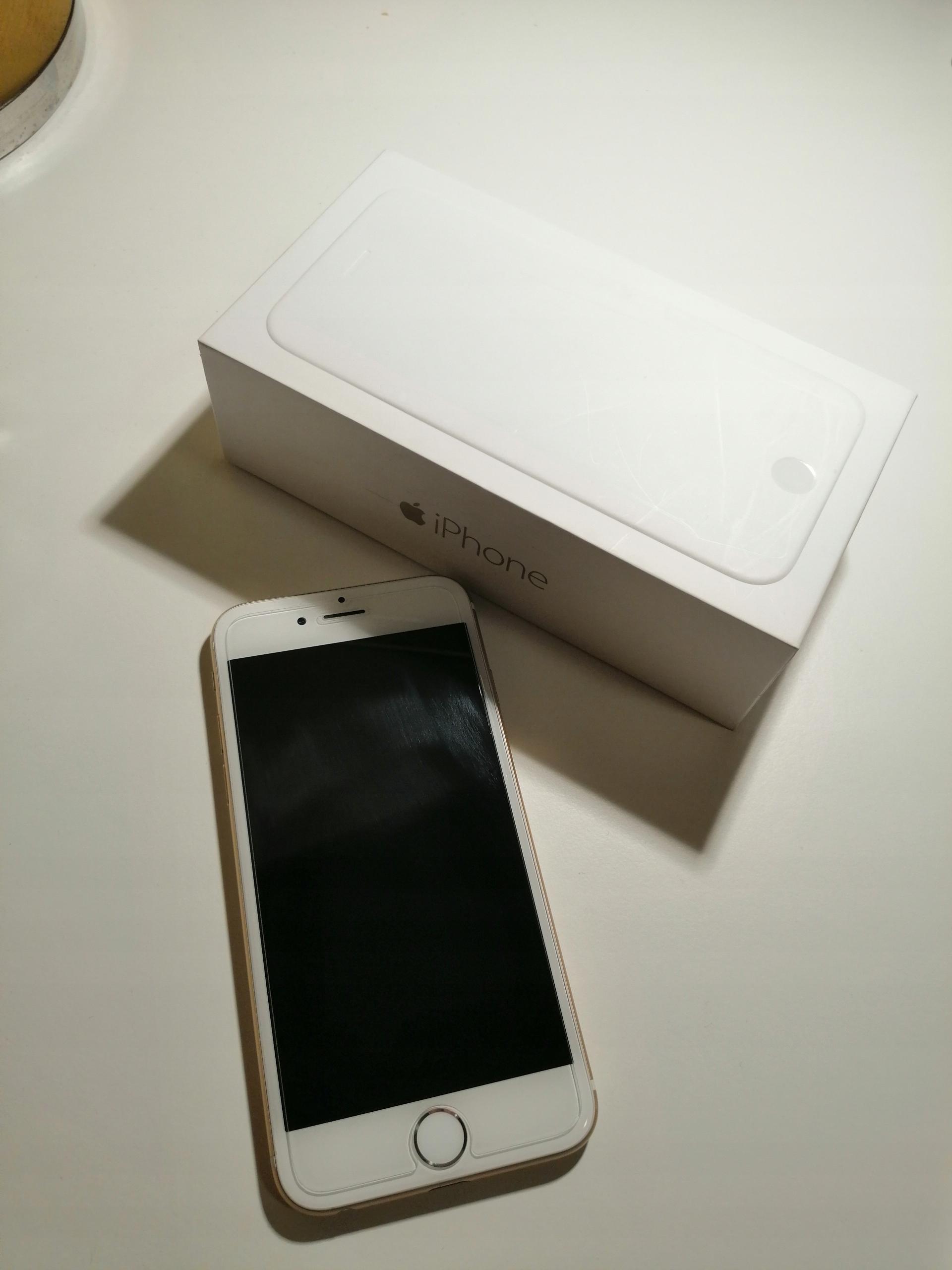 iPhone 6 złoty 16 GB NOWE SŁUCHAWKI + ŁADOWARKA