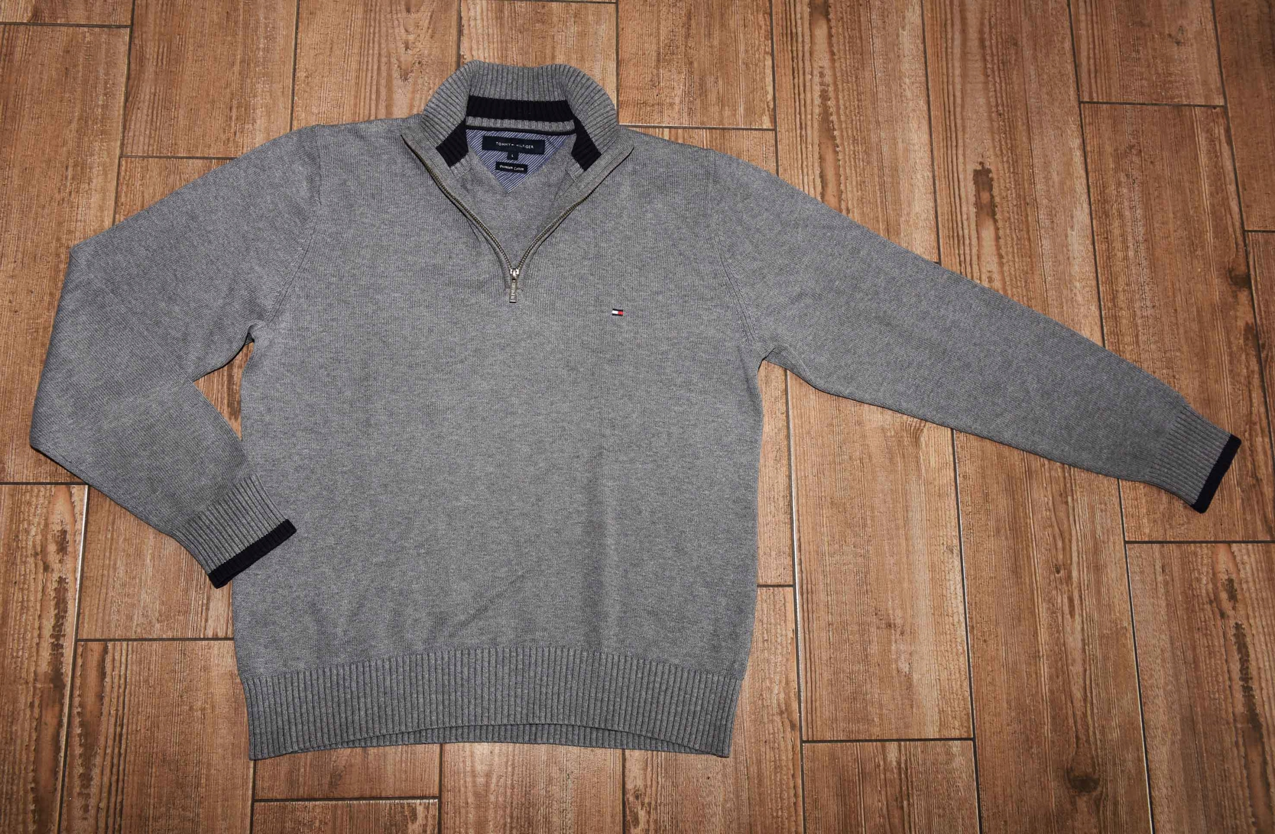 Tommy Hilfigner __ sweaters 1/3 zip / R. L
