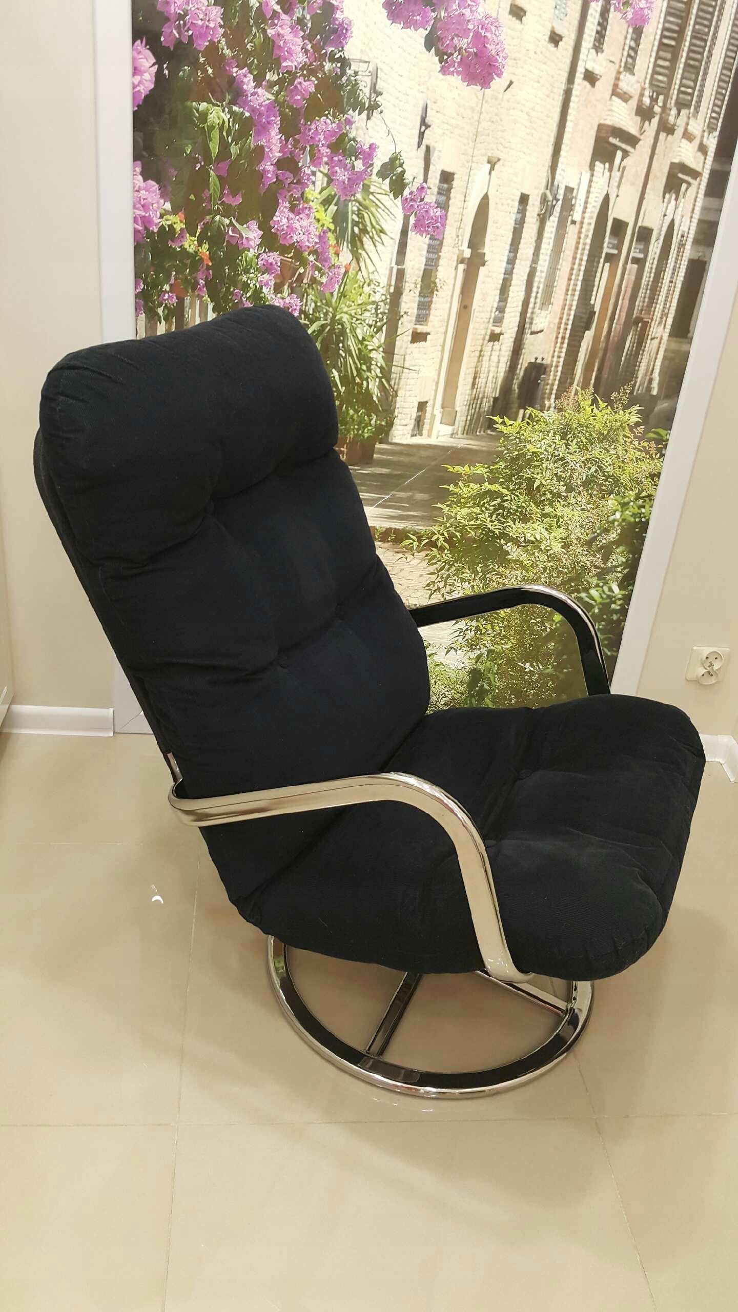 Ikea Smedsta 2 Fotele Obrotowe Czarne 7830756131
