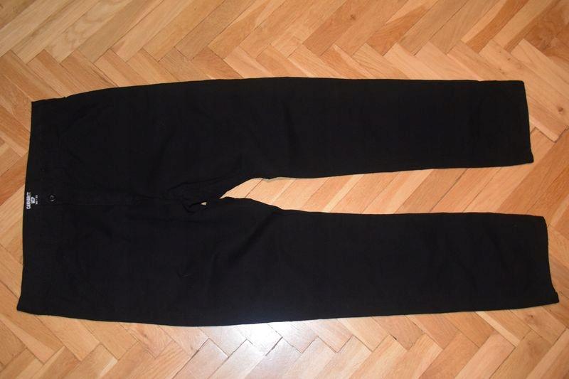 CARHARTT WIP CHALK męskie spodnie jeansowe ~ 32/32