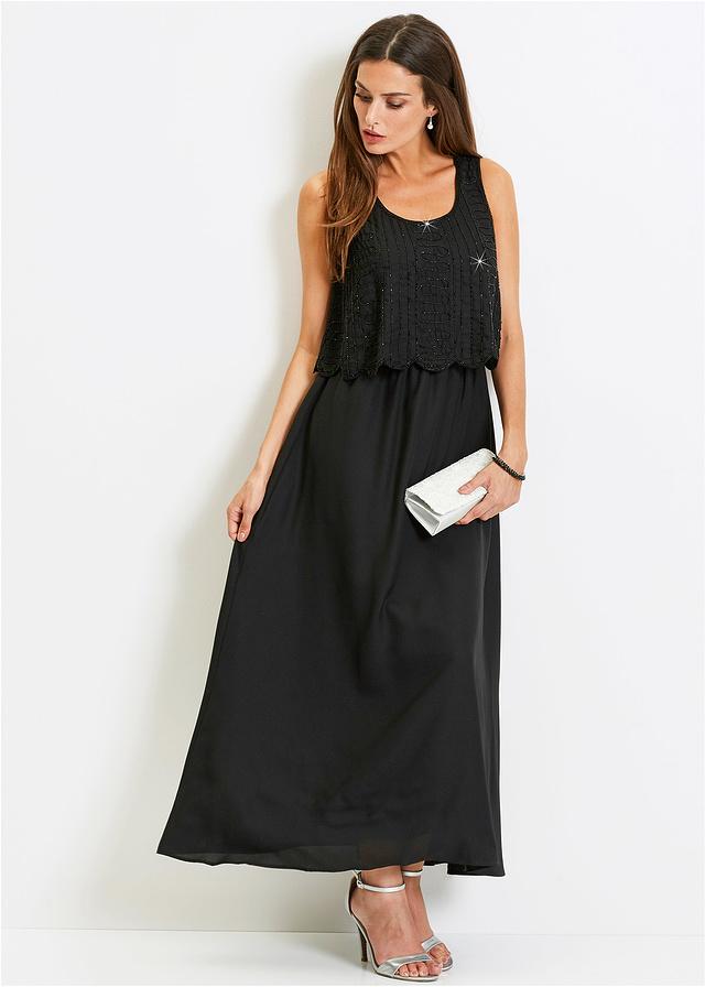 21d8cef6e1 Sukienka wieczorowa Premium czarny 52 6XL 956728 - 7178310297 ...
