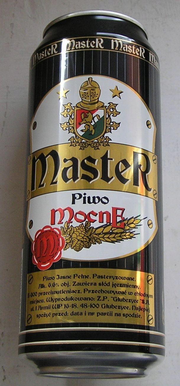 PUSZKA PIWO MASTER MOCNE GŁUBCZYCE 2006