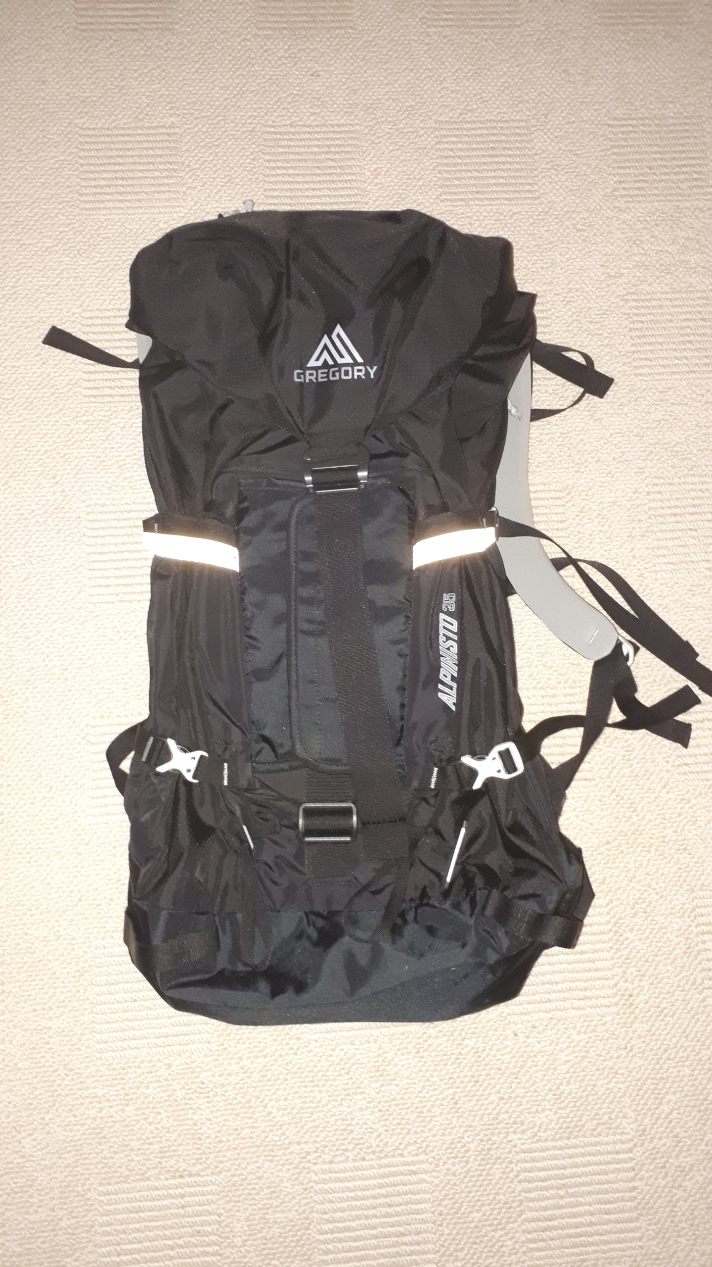 Plecak Gregory Alpinisto 35 czarny L