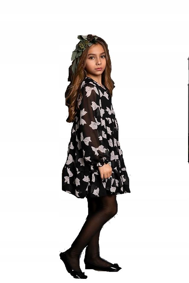 Sukienka kokardy MałaMi 98/104