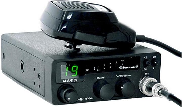CB RADIO ALAN 109 + President ML-145 + SIRIO 30