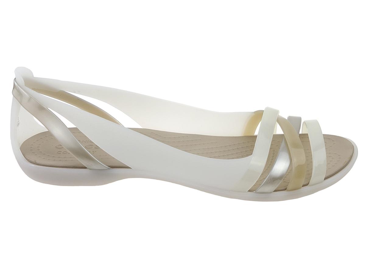 Sandały Crocs Huarache 204912-1C4 beż oyster 41/42