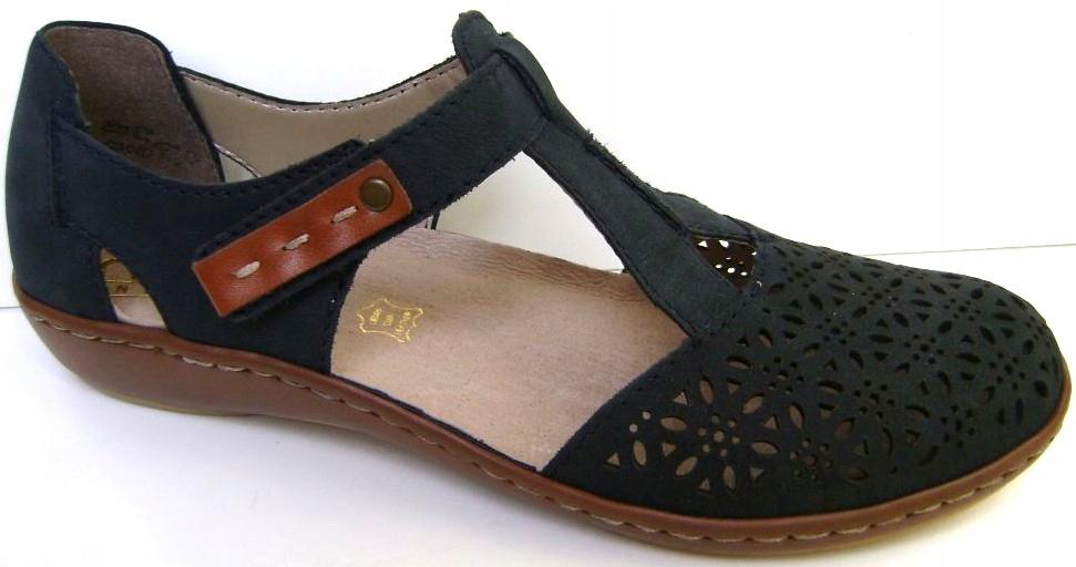 RIEKER Wz. 45880-14 roz.41 sandały