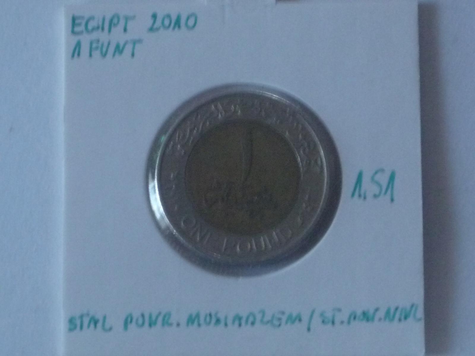 1 funt 2010 Egipt st.III