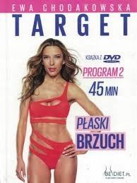 DVD książka EWA CHODAKOWSKA TARGET: PŁASKI BRZUCH