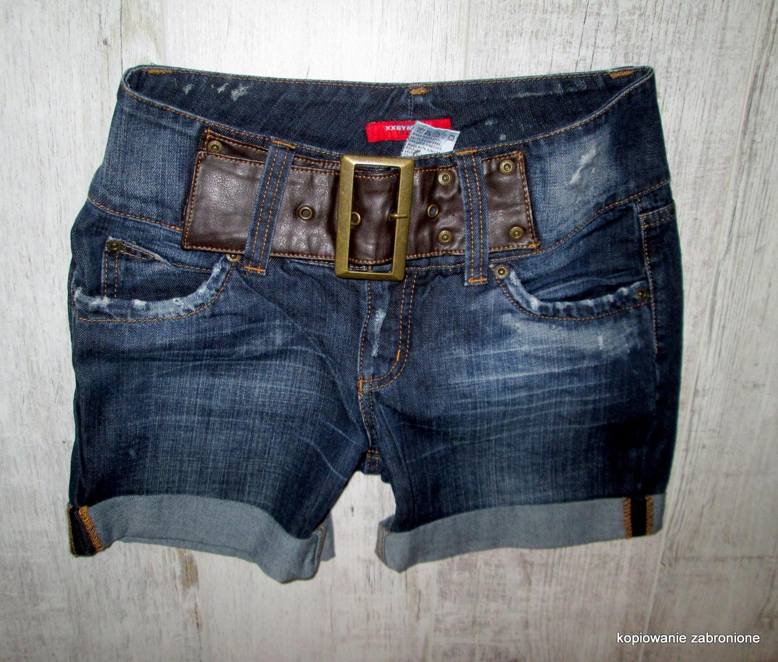 MEXX spodenki jeans dzinsowe szorty r. 28 36