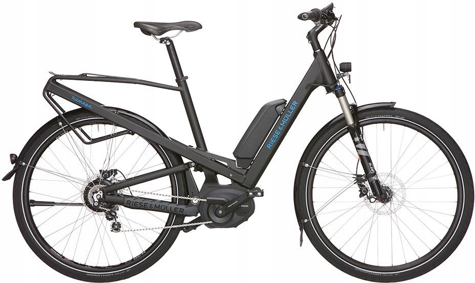 RieseMuller Homage FULL NuVinci Disc E-BIKE 29-ER
