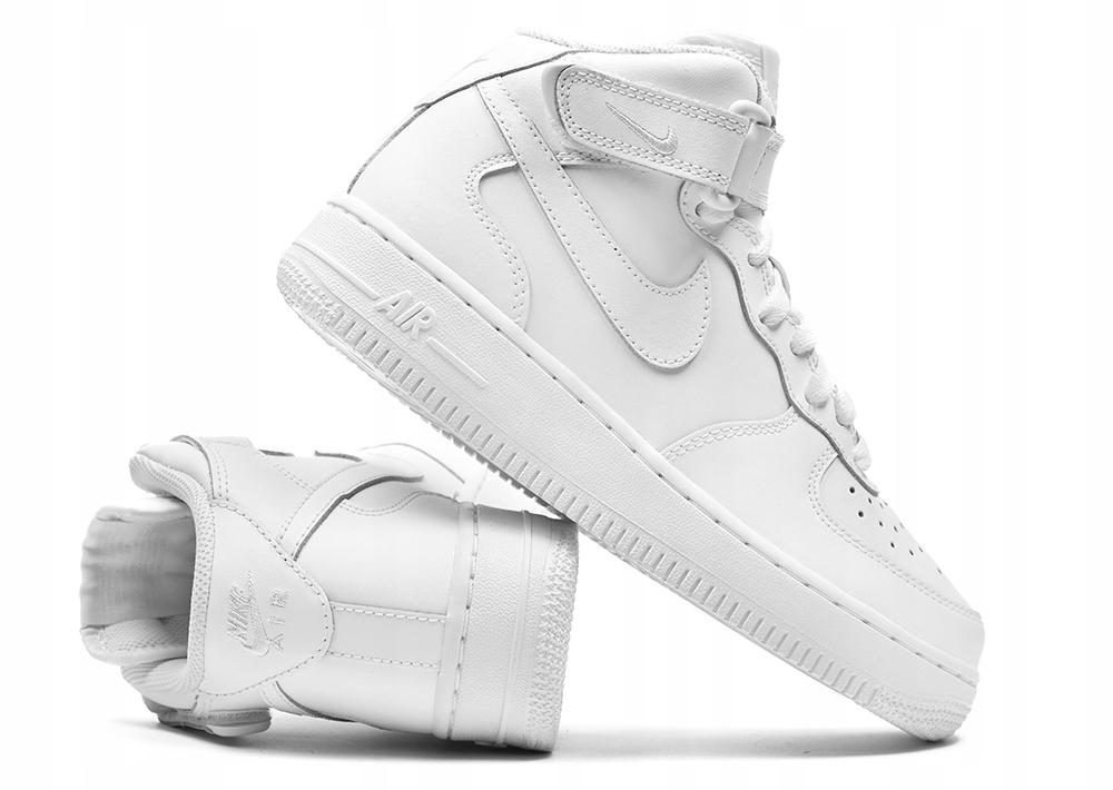 styl mody informacje o wersji na autentyczny Buty Damskie Nike Air Force 1 Mid r.38,5 za Kostkę ...