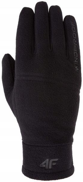 Rękawiczki uniwersalne 4F REU004 czarne xs