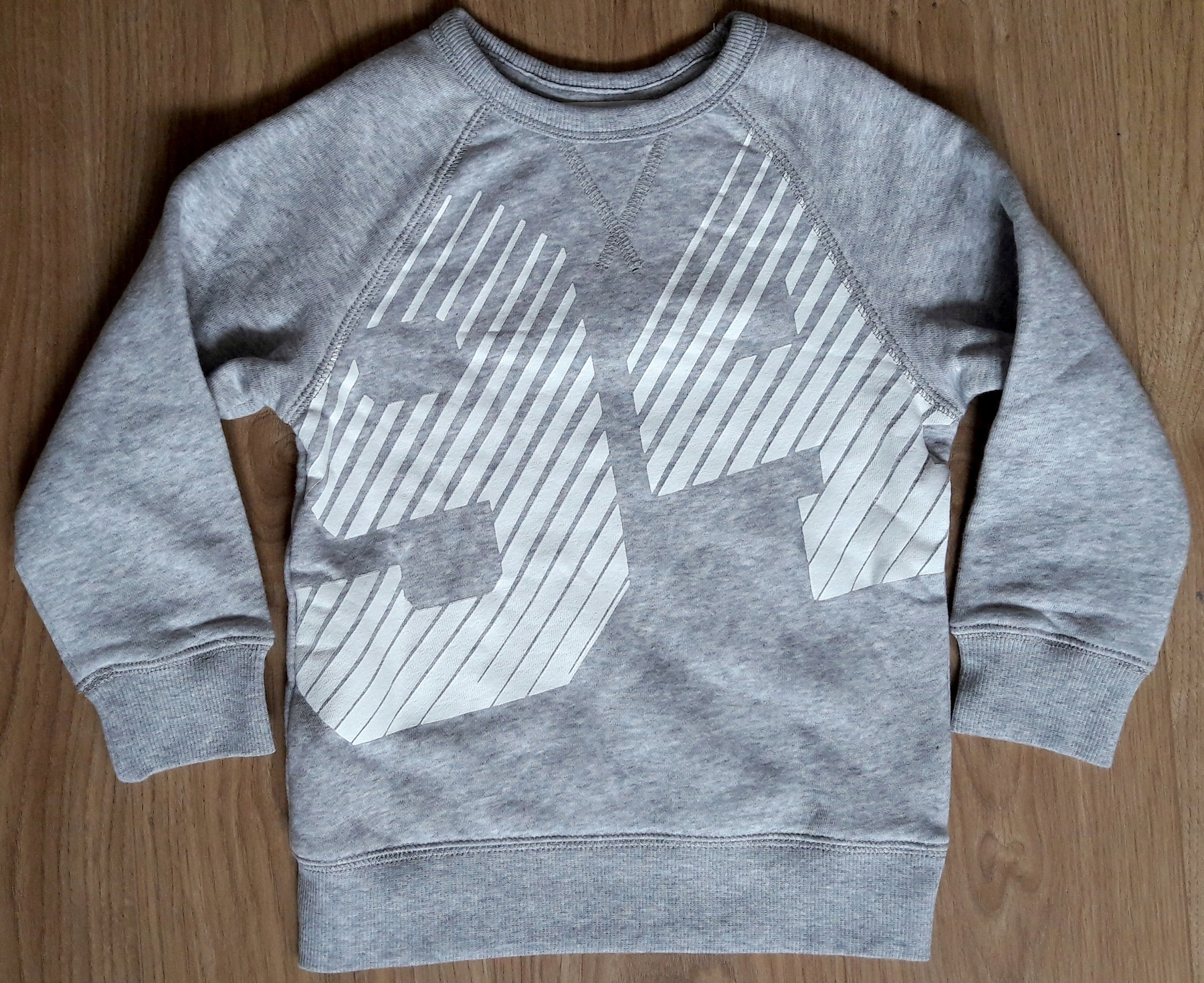 H&M bluza 98/104 NOWA ciepła szara 2-4 lata