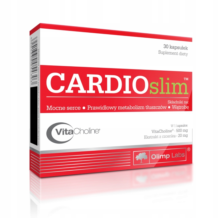 CARDIOslim 30 kapsułek - Olimp Labs