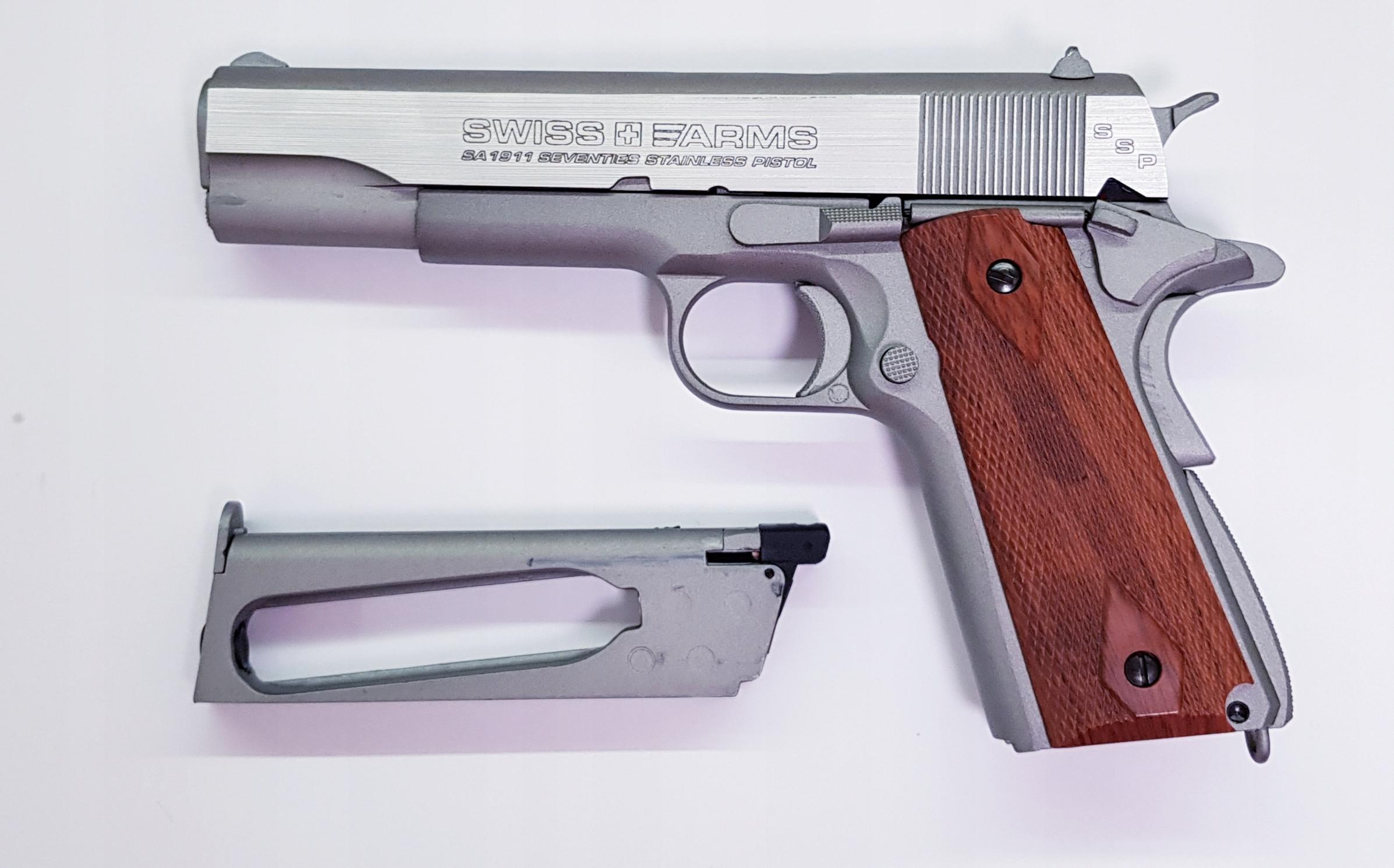 Cybergun Swiss Arms SA1911 Blow Back 4,5 mm