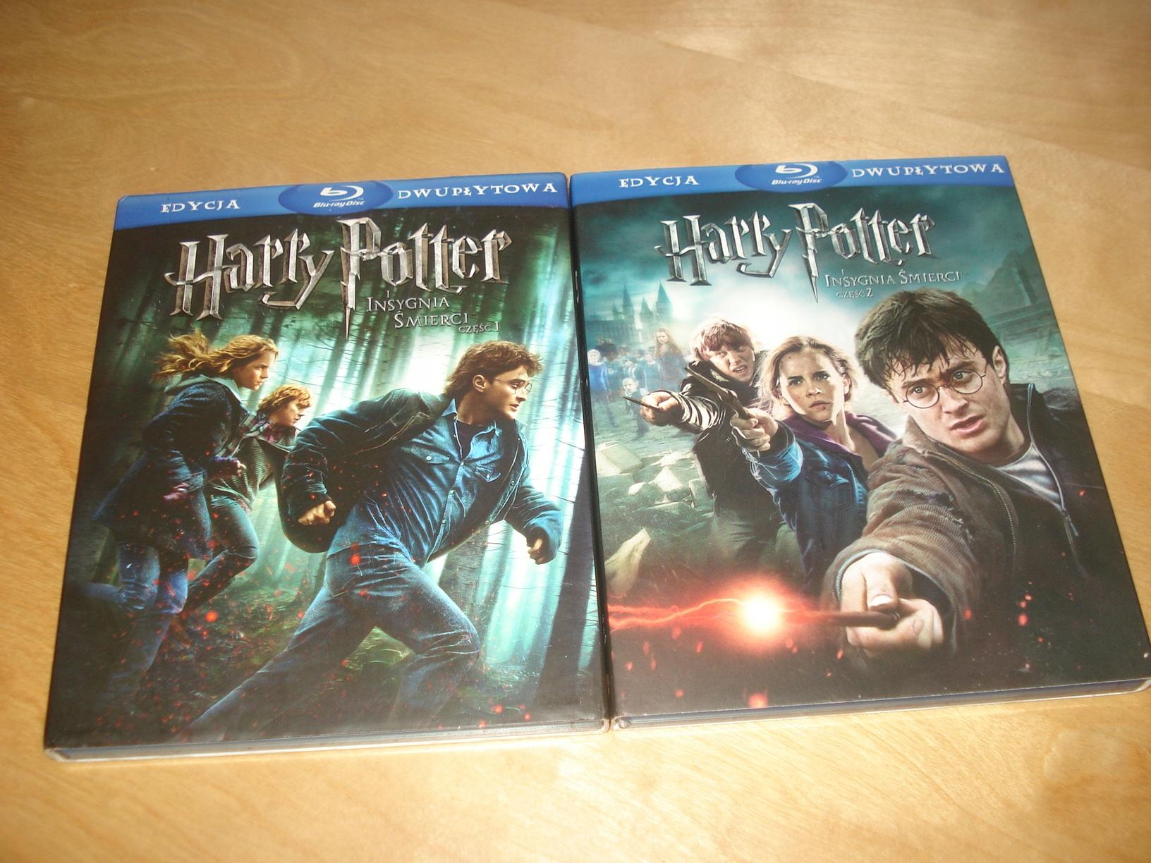 Harry Potter i Insygnia Śmierci - Część 1+2 - 4 BR