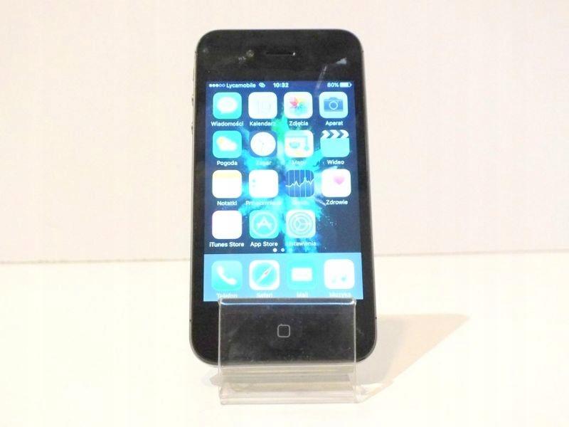 APPLE IPHONE 4S 16GB BLACK (MD235B/A) - 7855635617 - oficjalne